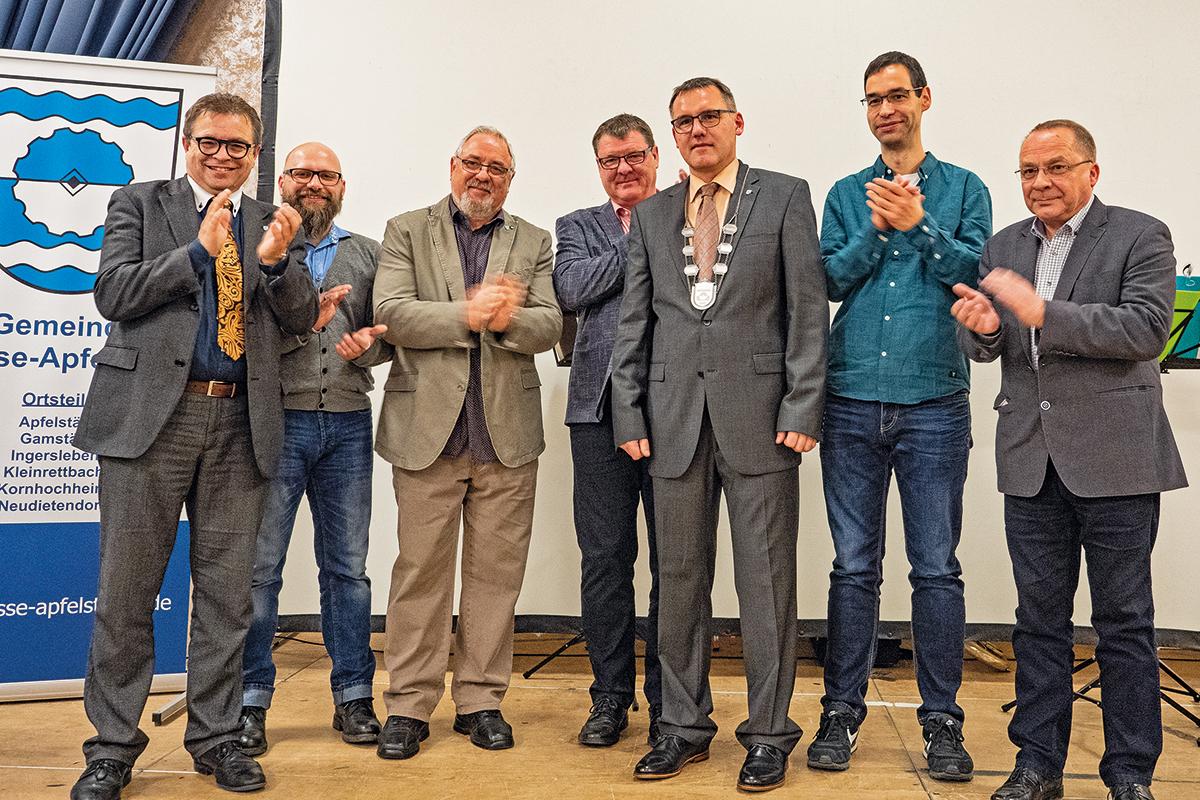 Burgen-Blick - 10 Jahre Landgemeinde Nesse-Apfelstädt