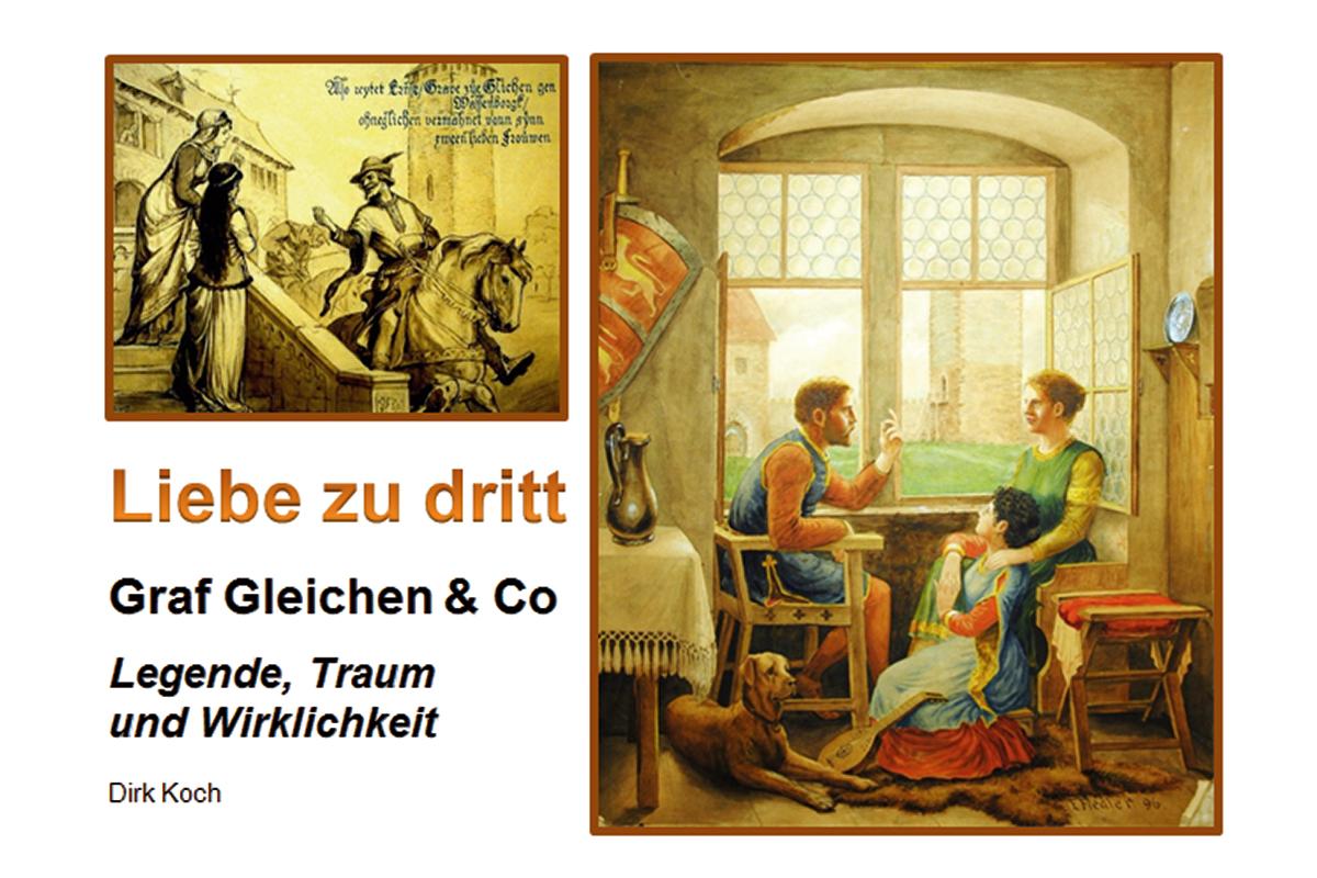 Burgen-Blick - Buchvorstellung _ Liebe zu dritt: Graf Gleichen & Co.