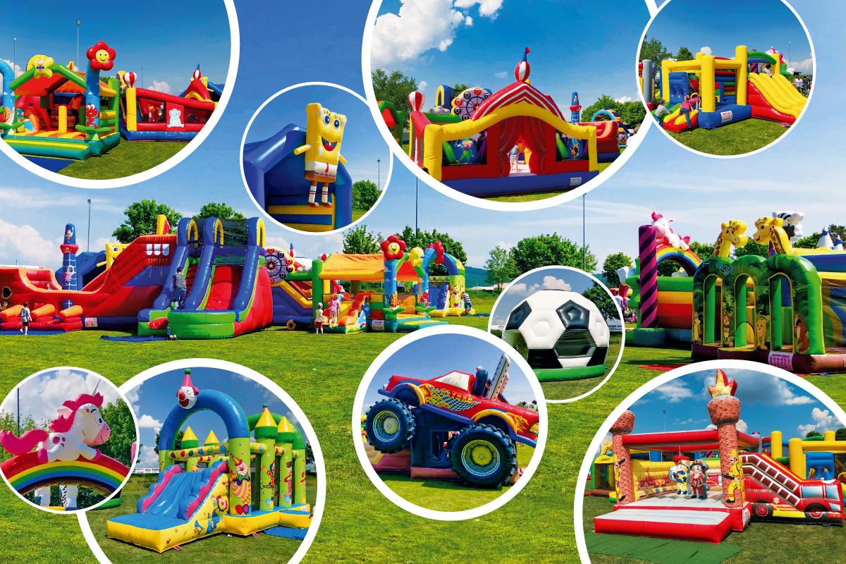 Burgen-Blick - Kinder- und Familienfest - Hüpfburgen