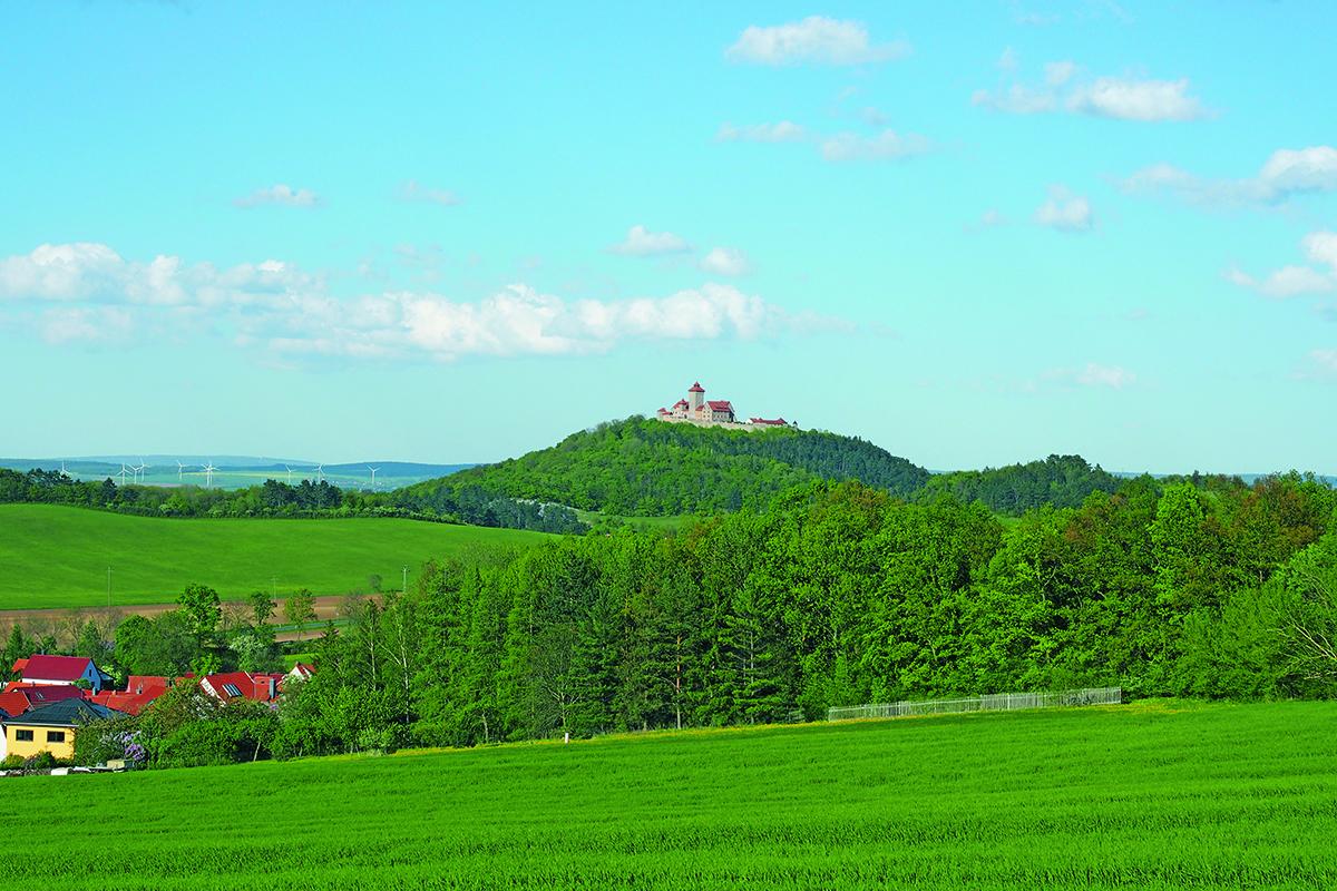 Burgen-Blick - Veste Wachsenburg
