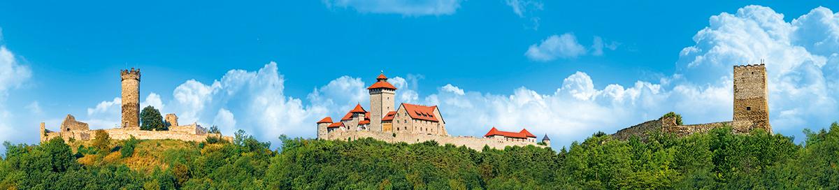 Drei Gleichen Druck - Die Drei Gleichen - Burgen