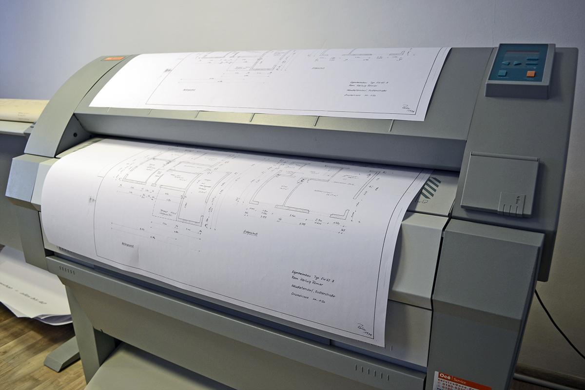Drei Gleichen Druck - kopieren - Großformat