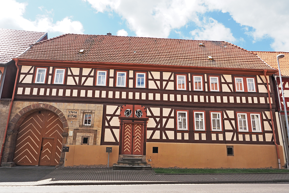 Burgen-Blick - Serie alte Gebäude - Wandersleben