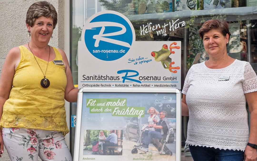 20 Jahre Sanitätshaus Rosenau