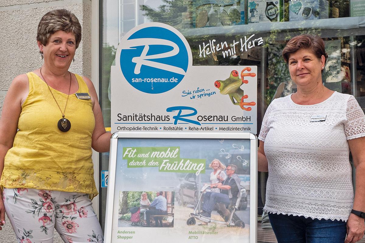 Burgen-Blick - 20 Jahre Sanitätshaus Rosenau