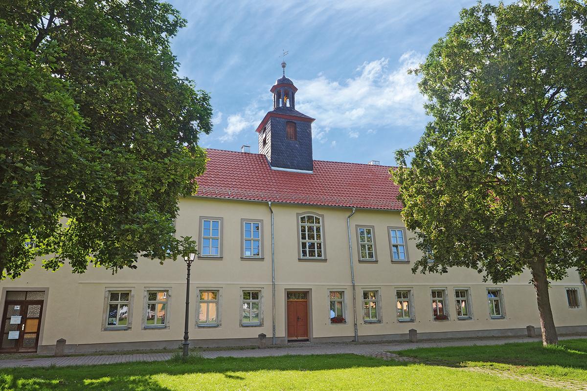 Burgen-Blick - Serie alte Gebäude - Neudietendorf