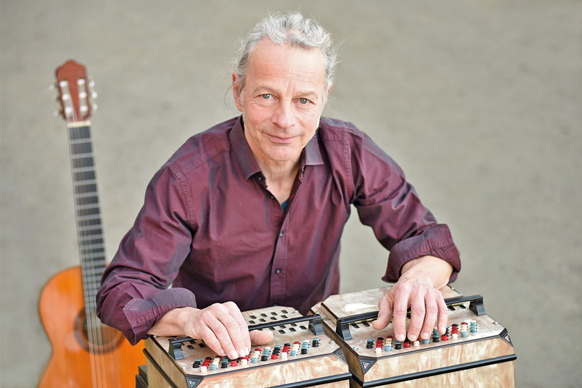 Burgen-Blick - Konzert Mediterran-Atlantico mit Oliver Jaeger
