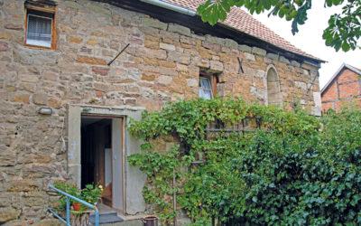 Historisches Steinhaus auf dem St. Annenberg