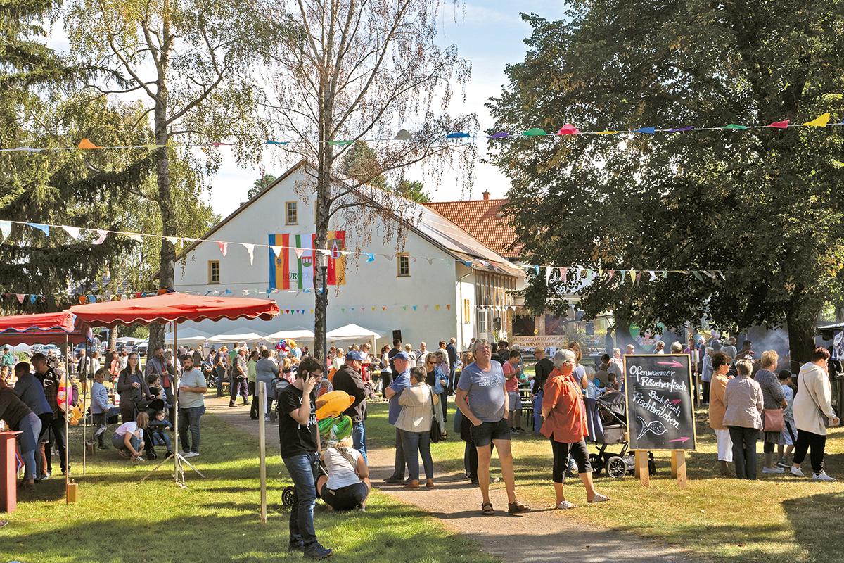 Burgen-Blick - 40 Jahre Bauernmarkt – Wandersleben