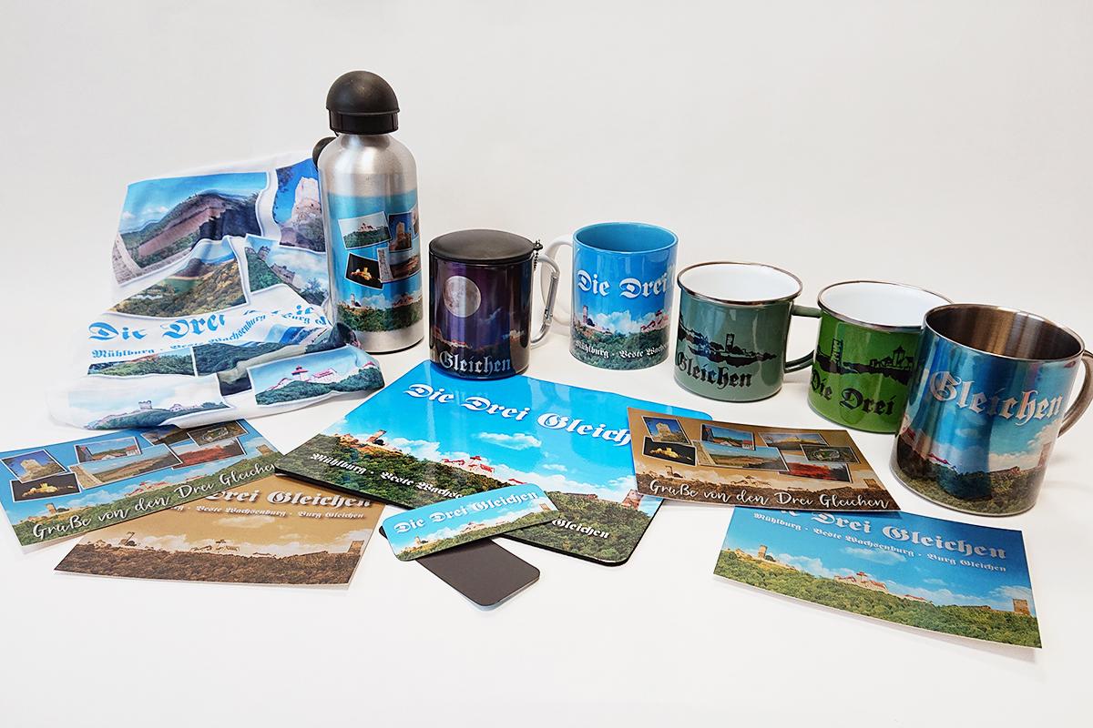 Burgen-Blick - Drei-Gleichen-Souvenirs