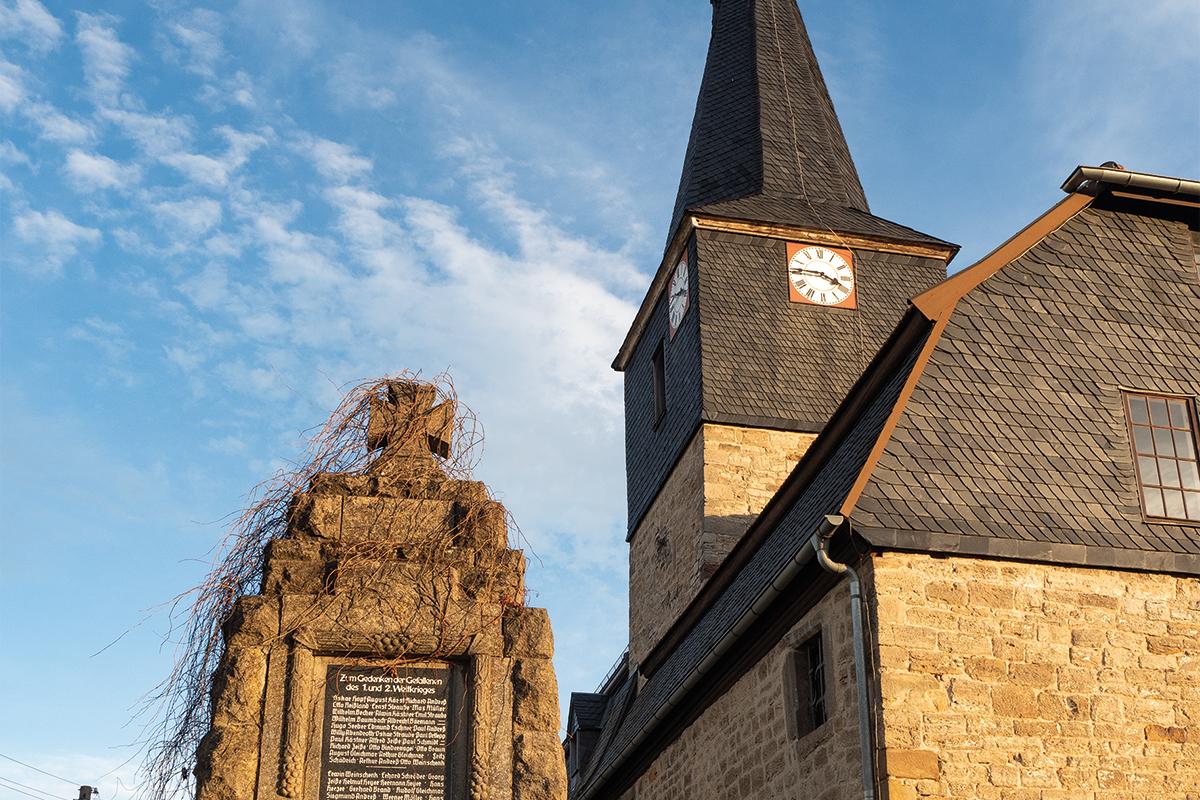 Burgen-Blick - Kirchturmsanierung der St. Ägidien-Kirche