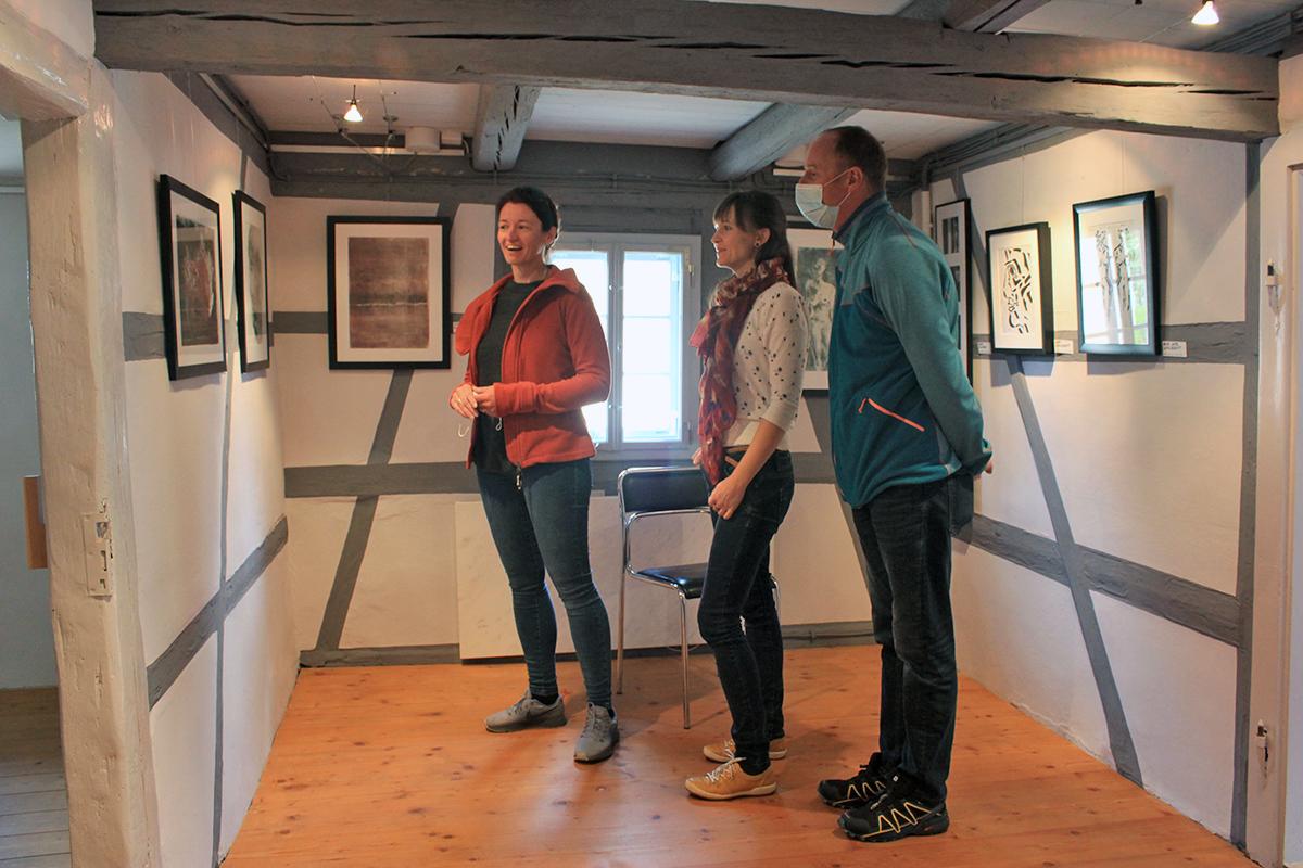 Burgen-Blick - Porträt-Ausstellung im Otto-Knöpfer-Haus