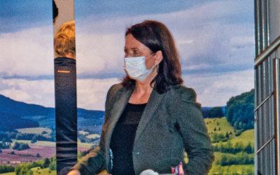 Anja Siegesmund im Bürgerhaus Günthersleben