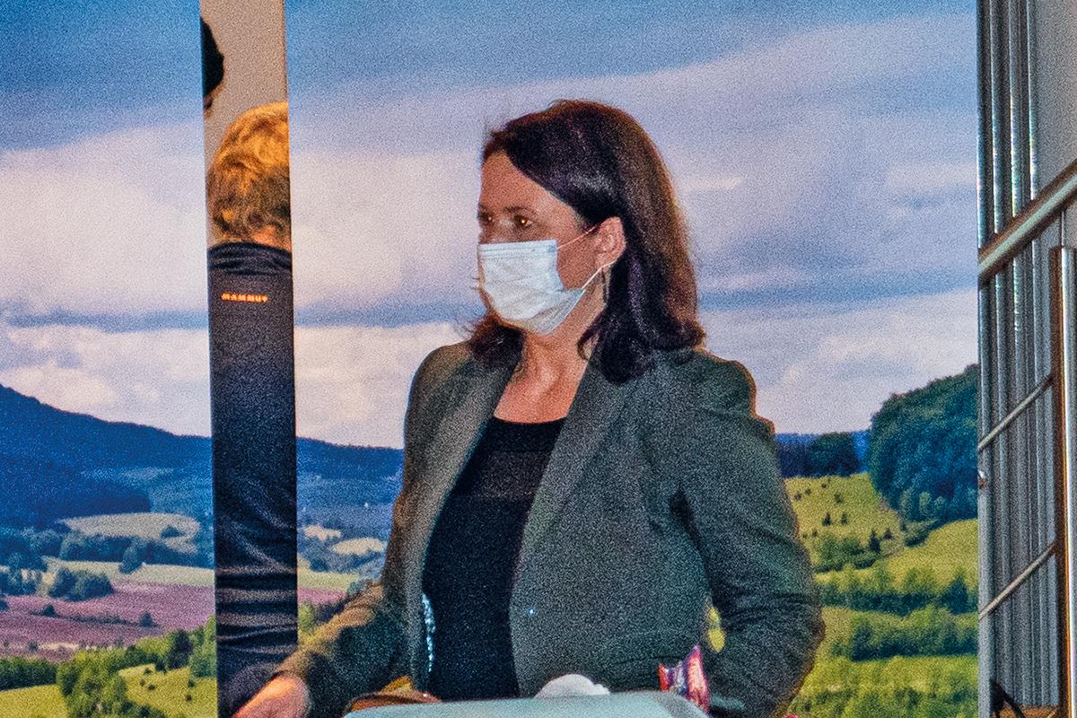 Burgen-Blick - Umweltministerin Siegesmund zur Apfelstädt im Gespräch