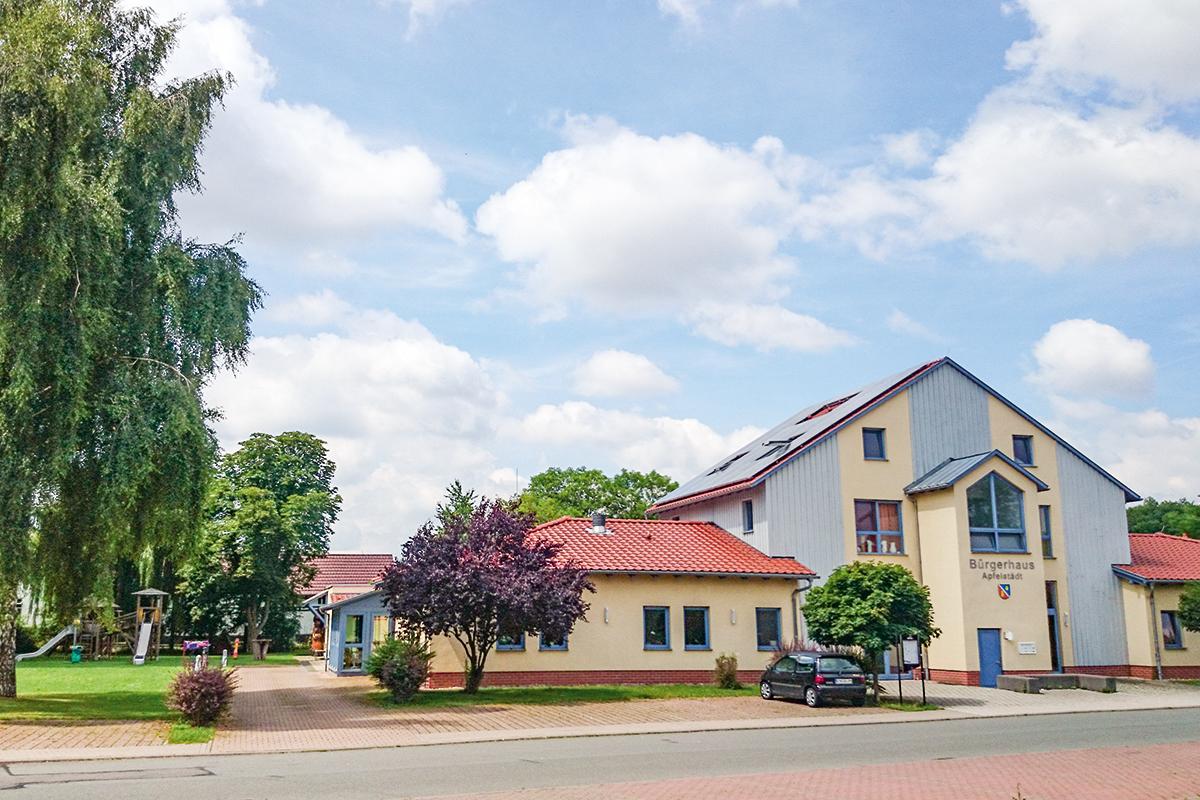 Burgen-Blick Bürgerhaus Apfelstädt