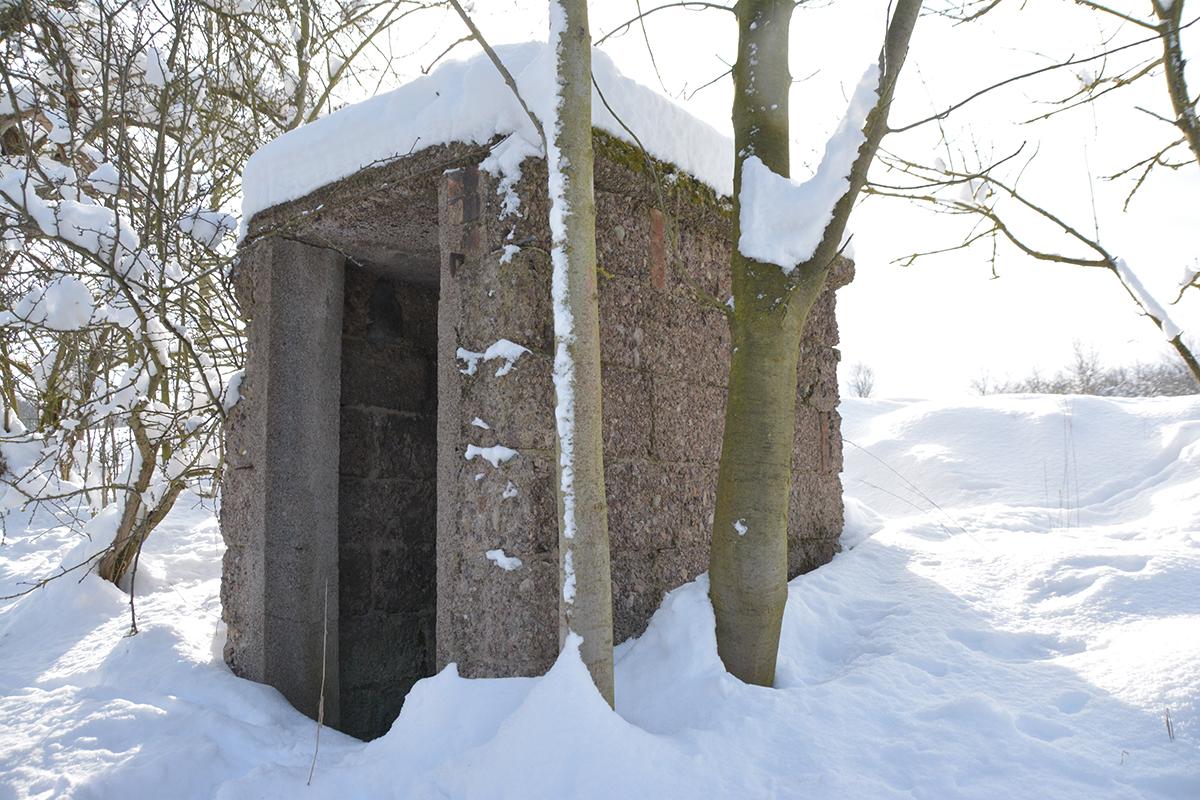 Burgen-Blick - Serie alte Gebäude - Obsthütte Ingersleben