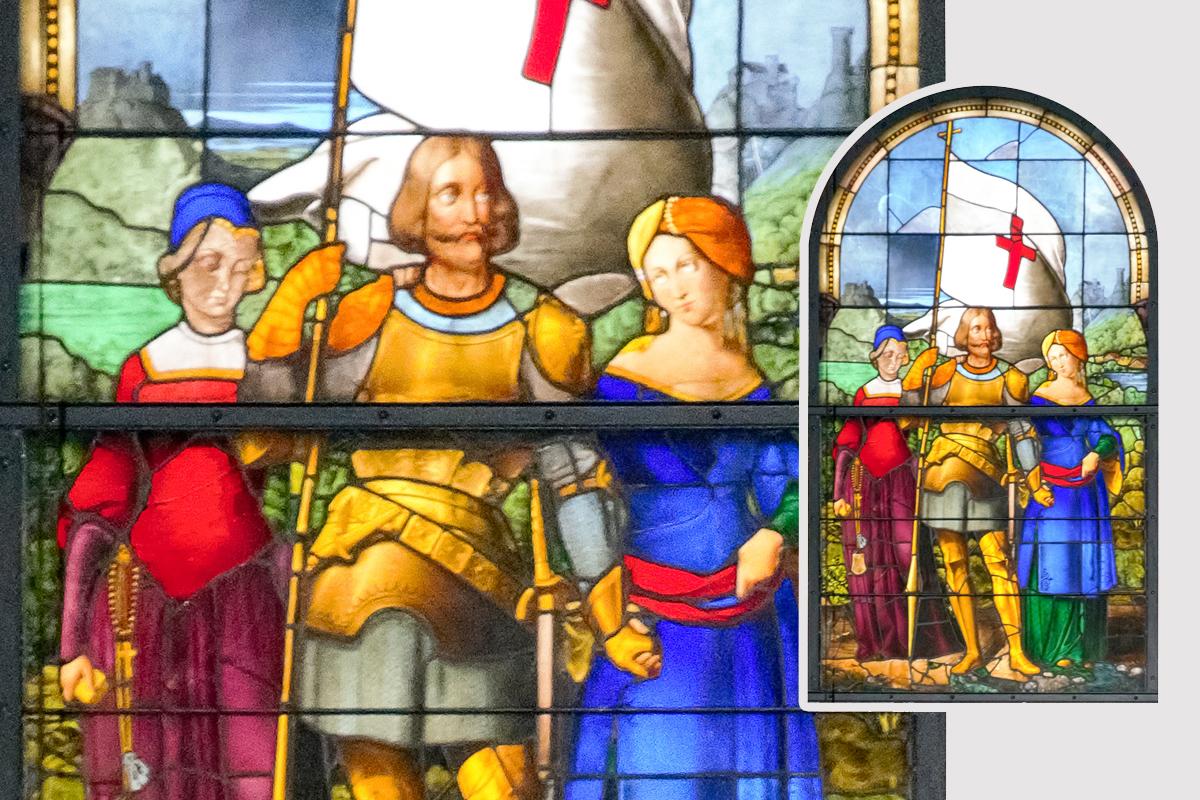 Burgen-Blick - Sage vom zweibeweibten Grafen von Gleichen