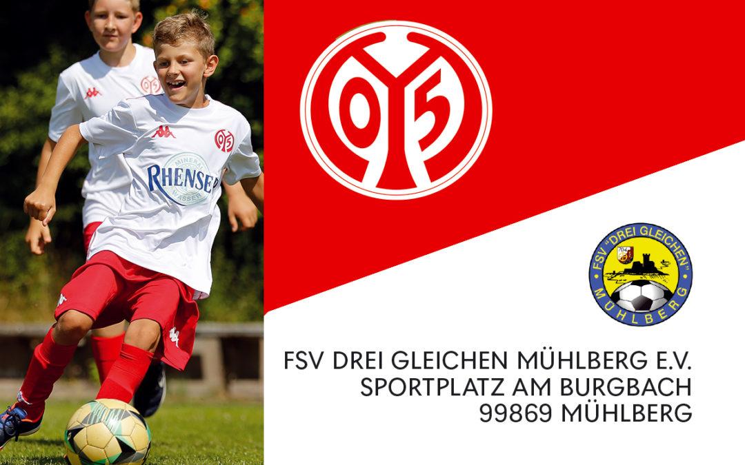 Fußballcamp beim FSV Drei Gleichen