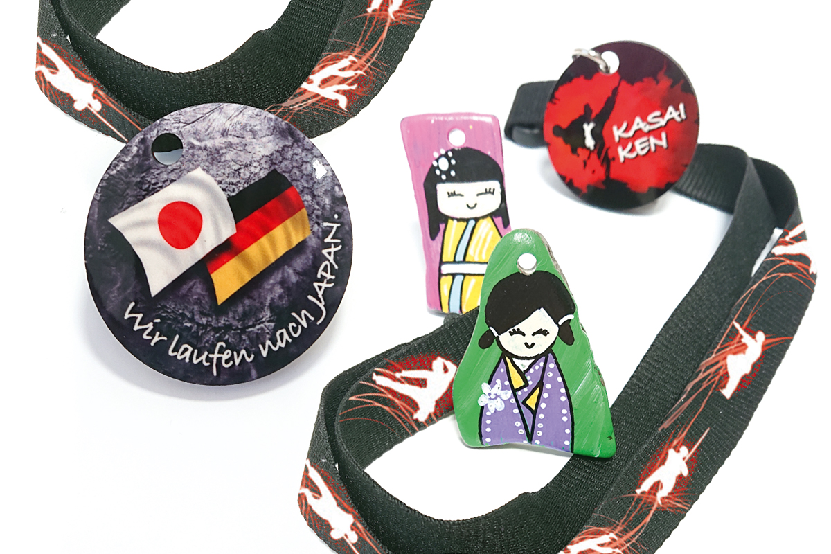Burgen Blick -Kasai Ken Challange: Wir laufen nach Japan