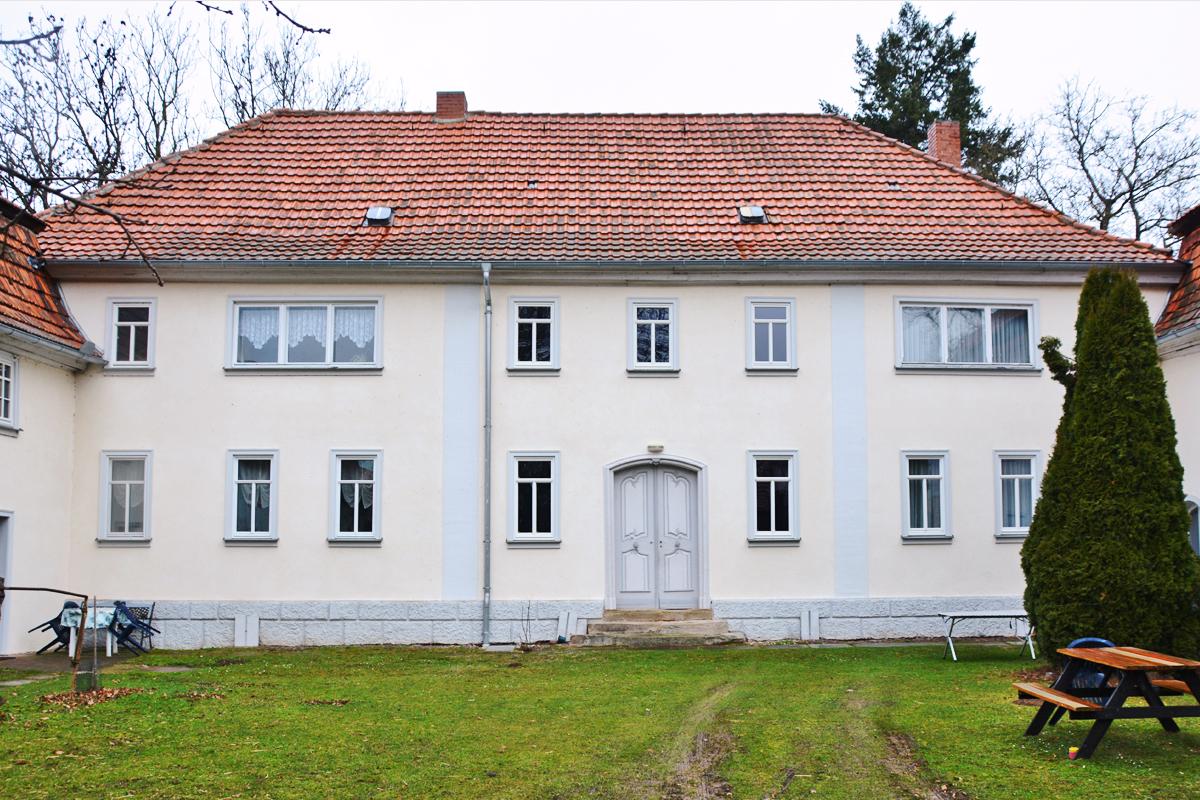 Burgen-Blick - Serie alte Gebäude - Gut Weidensee in Wechmar