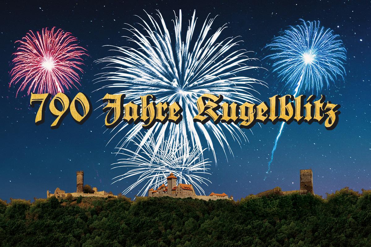 Burgen-Blick - 790 Jahre Blitzeinschlag in die Drei Gleichen