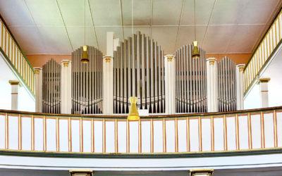Orgel der Sankt-Viti-Kirche zu Wechmar