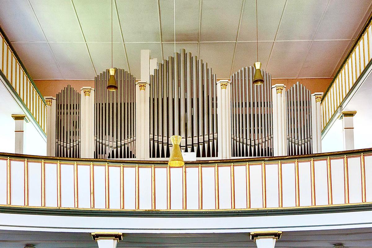 Burgen-Blick - Ratzmann-Orgel