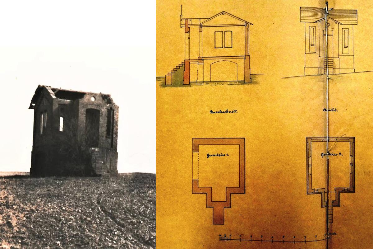 Burgen-Blick - Serie alte Gebäude - Verschwundene Villa