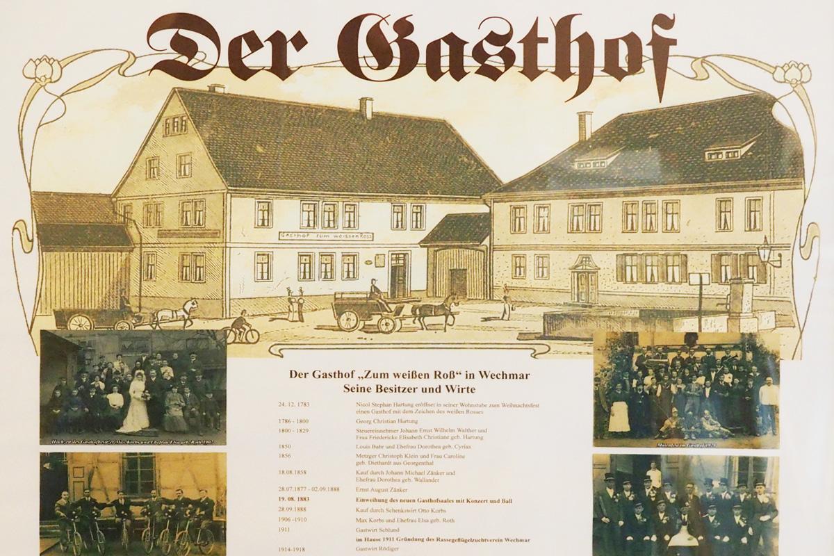 """Burgen-Blick - Gasthof """"Zum Weißen Roß"""" in Wechmar schließt"""