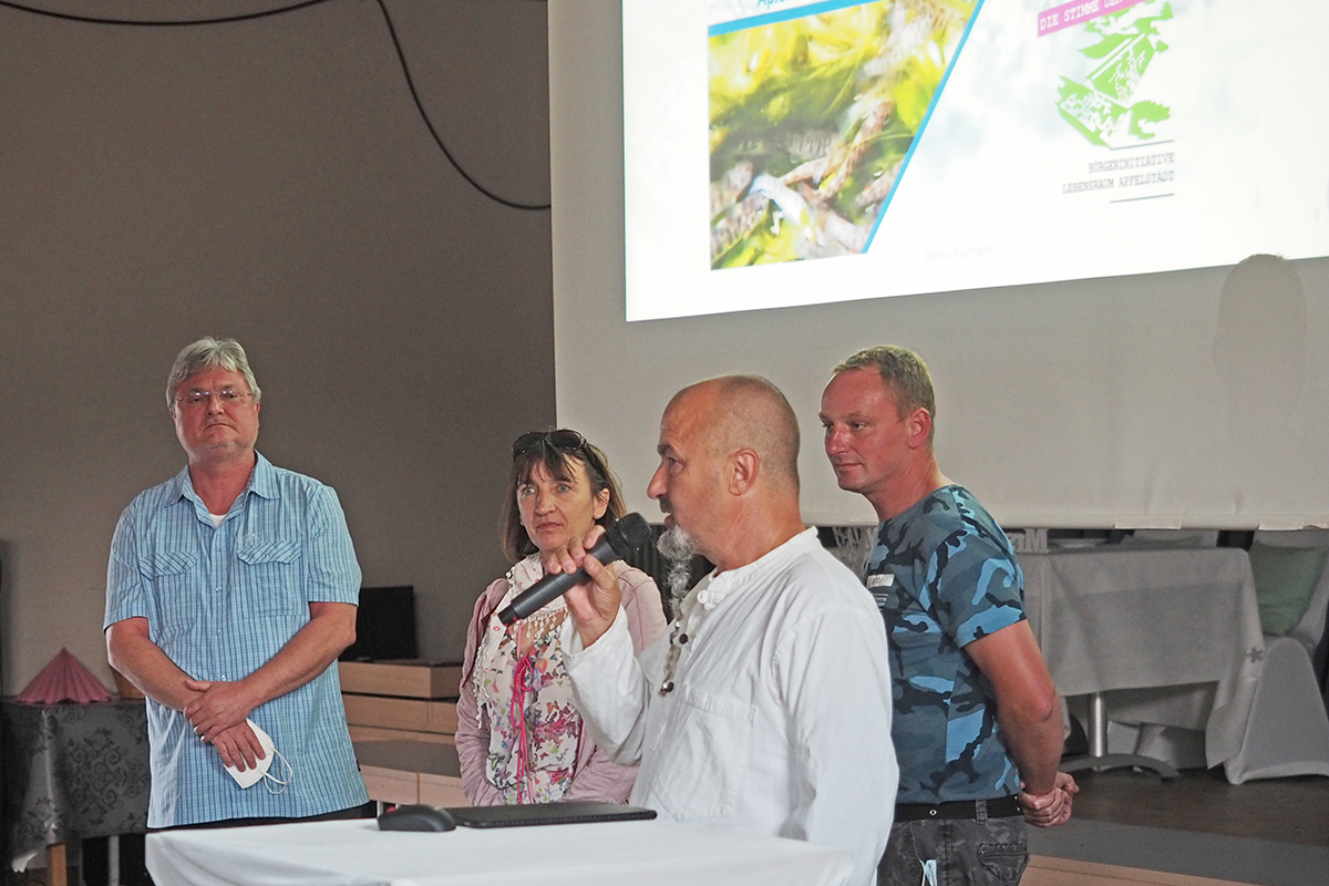 Burgen-Blick - BI Lebensraum Apfelstädt - Bürgerversammlung