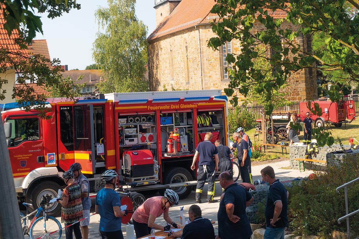 Burgen-Blick - 3. Gemeindefest der Landgemeinde Drei Gleichen