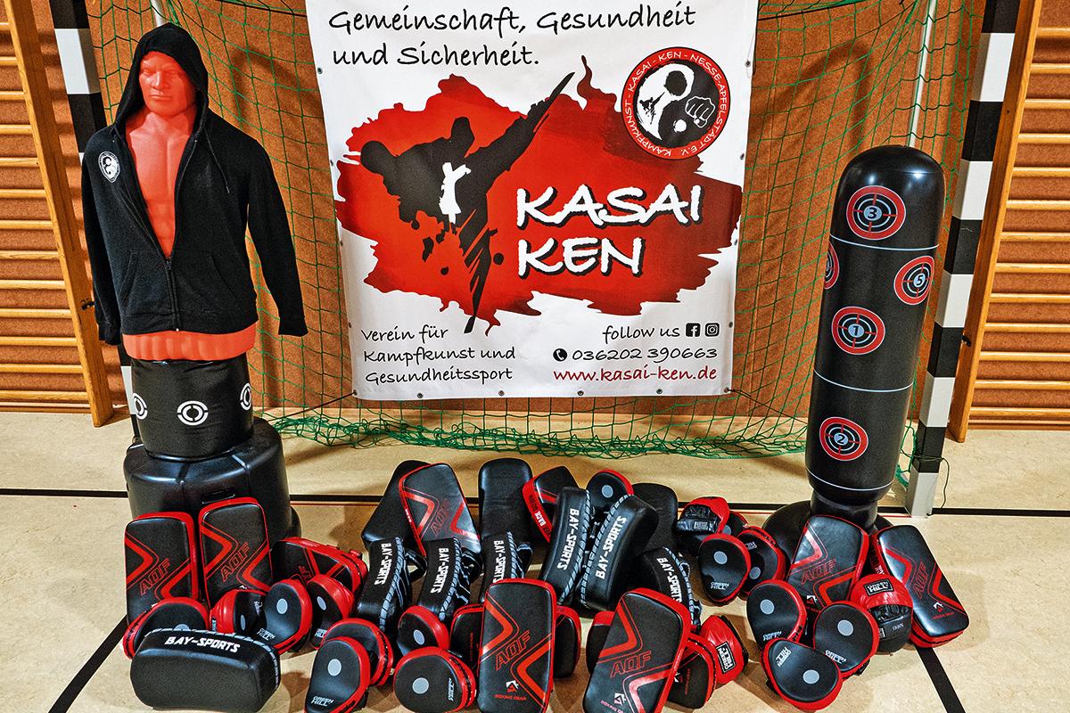 Burgen-Blick - Kasai Ken geht mit voller Kraft in den Trainingsbetrieb